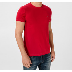 TOMMY HILFIGER - T-shirt slim fit in cotone biologico Art. MW10800 XLG