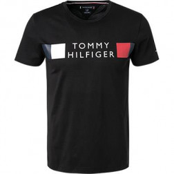 TOMMY HILFIGER - T-shirt regular fit in cotone biologico Art. MW13330 BDS