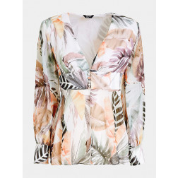 MARCIANO GUESS - Blusa stampa floreale Marciano Art. 02G456 7120Z P06C