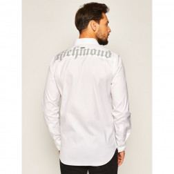 JOHN RICHMOND - Camicia con logo monogramma Kora Art. RMP20145CA