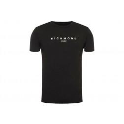 RICHMOND SPORT - T-shirt hasselt Art. UMA190006TS