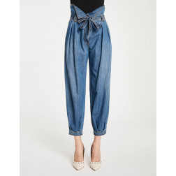 DENNY ROSE - Pantalone palloncino Art. 011DD20012