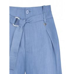 RINASCIMENTO - Shorts morbido denim con cintura Art. CFC0099007003