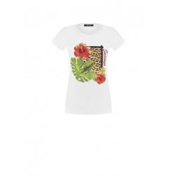RINASCIMENTO - T-shirt stampa fiore Art. CFM0009761003