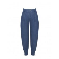 RINASCIMENTO - Jeans mom con riscolto alto Art. CFC0099142003
