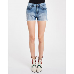 DENNY ROSE - Shorts denim scritte Art. 011ND26024 00
