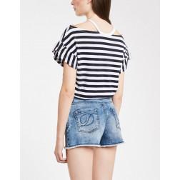 DENNY ROSE - T-shirt righe Art. 011ND64015 018943-01