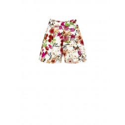 RINASCIMENTO - Shorts stampa fiori in cotone Art. CFC0100088003