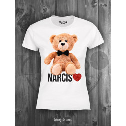 NARCISO - T/shirt slim Art. DG207 S TEDDY