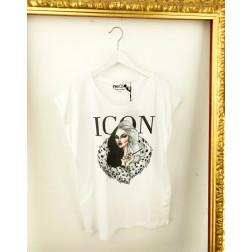 NARCISO - T/shirt over Art. DB530 CRUDELIA OVER