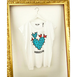 NARCISO - T/shirt over Art. SM19 ABBRAC. OVER
