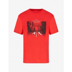 ARMANI EXCHANGE - T-shirt stampata 3KZTFH ZJH4Z 1400