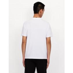 ARMANI EXCHANGE - T-shirt scollo a V 3KZTFY ZJH4Z 1100