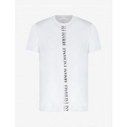 ARMANI EXCHANGE - T-shirt logo verticale 3KZTFL ZJEAZ 1100
