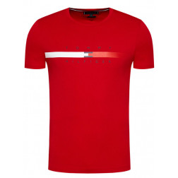 TOMMY HILFIGER - T-shirt in cotone MW16572 XLG