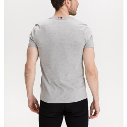 TOMMY HILFIGER - T-shirt logo ricamato MW17663 P91