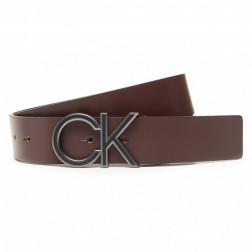 CALVIN KLEIN BORSE - Cintura in pelle con logo K506867 BAR