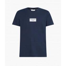 CALVIN KLEIN - T-shirt logo centrale K106484 DW4