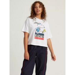 LEVIS - T-shirt crop Peanuts 85634-0040
