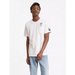 LEVIS - T-shirt Peanuts taschino 34310-0013