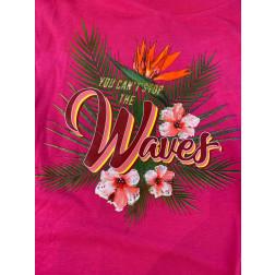 """GUESS - T-shirt stampa """"waves"""" W1GI1D K46D0 G64E"""