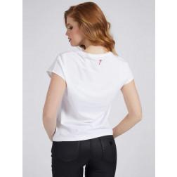 GUESS - T-shirt logo frontale W1GI0Q I3Z11 TWHT