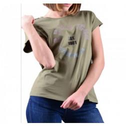 GUESS - T-shirt logo frontale W1GI0Q I3Z11 G8U0