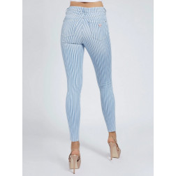 GUESS - Jeans a righe W1GA28 D4CR1 OCST