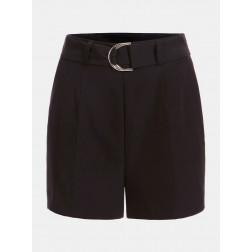 GUESS - Shorts con cintura W1GD1E WB4H2 JBLK