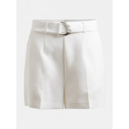 GUESS - Shorts con cintura W1GD1E WB4H2 TWHT