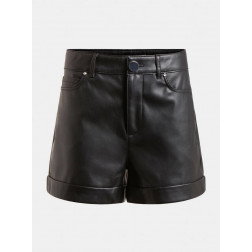 GUESS - Shorts ecopelle W1RD0H WAOO0 JBLK