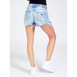 GUESS - Shorts dettaglio cerniera W1GD70 D3P32 RIK1