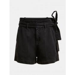 GUESS - Shorts con cintura W1GD0D WDP82 JBLK