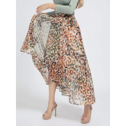 GUESS - Gonna stampa animalier W1GD0V WDV90 P16P