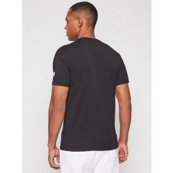 GUESS - T-shirt stampa palme M1GI58 J1311 JBLK