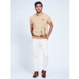 GUESS - T-shirt stampa cactus M1GI59 K8FQ1 G1CS