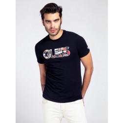 GUESS - T-shirt logo multicolour M1GI78 J1311 JBLK
