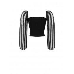 RINASCIMENTO - Blusa manica lunga organza CFC0017446002