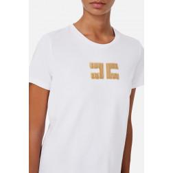 ELISABETTA FRANCHI - T/shirt con logo MA15906E2 270