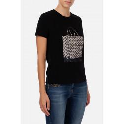 ELISABETTA FRANCHI - T/shirt con stampa MA19906E2 110