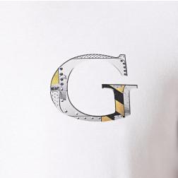 GUESS - T-shirt G M0YI86 J1300 TWHT