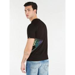 GUESS - T-shirt logo laterale M0YI45 K8HM0 JBLK