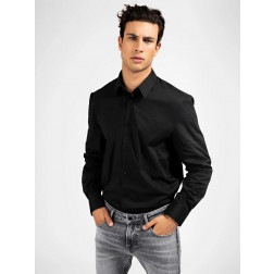 GUESS - Camicia slim M0YH20 W7ZK0 JBLK