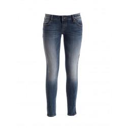 FRACOMINA - Jeans banda laterale W10007D01002 883 JMARTINA