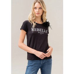 FRACOMINA - T-shirt stampa lettering W16014J00329 053