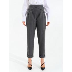 RINASCIMENTO - Pantalone gessato CFC0099806003