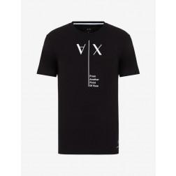ARMANI EXCHANGE - T-shirt scritta 6HZTAH ZJA5Z 1200