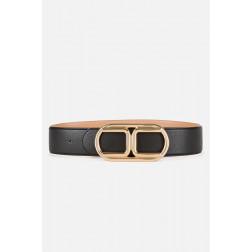 ELISABETTA FRANCHI - Cintura con fibbia logo CT36S06E2 110