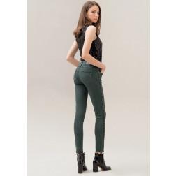 FRACOMINA - Pantalone banda paillettes W10010D00401 119