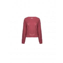 FRACOMINA - Maglia a maglia larga W01025K05301 E30
